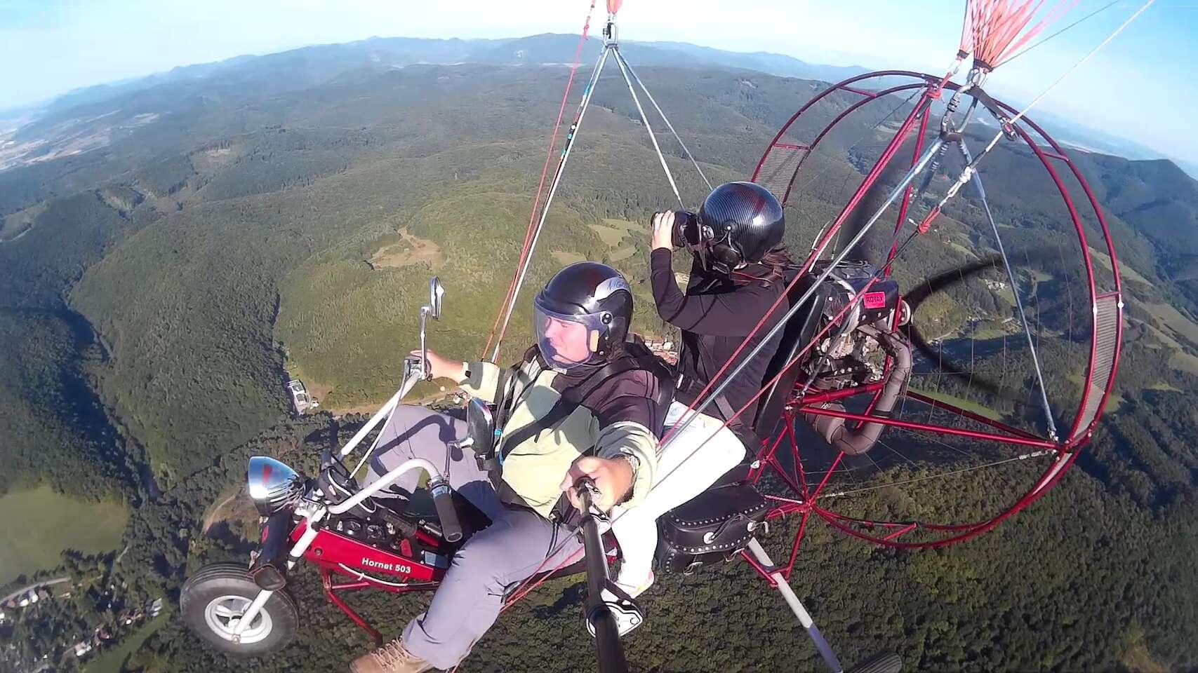 Neopakovateľný zážitok - vyhliadkový let s Air chopprom, motorov...