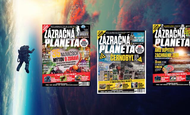 Ročné predplatné časopisu Zázračná planéta.