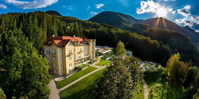 Liečivé rímske 4* kúpele v Slovinsku s polpenziou pre dvoch počas celého roka 2020