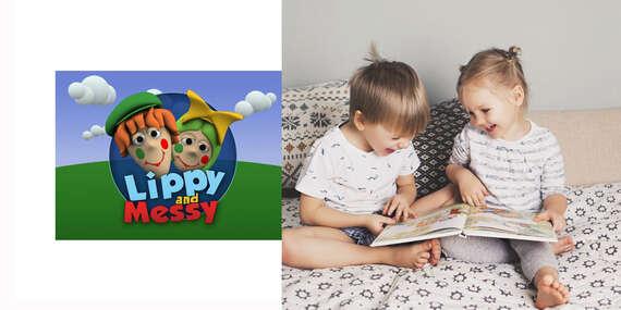 Angličtina hrou - DVD Lippy and Messy pre deti/Slovensko