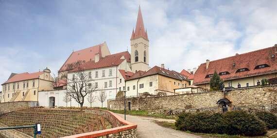Dovolenka na Južnej Morave v hoteli Weiss vrátane vína a návštevy pivovaru alebo vyhliadky / Česko - Južná Morava - Lechovice