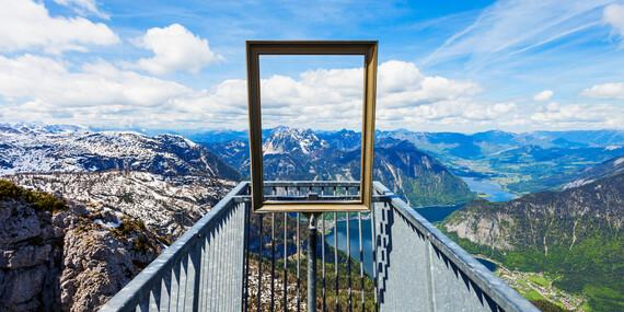 Úžasná vyhliadka Päť prstov, magická ľadová jaskyňa a čarovný Hallstatt/Rakúsko - Hallstatt