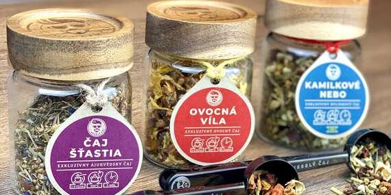 Veselé balenia sypaných čajov, obsahujú vitamín C a podporujú imunitu/Slovensko