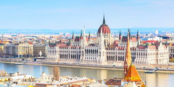 Superior izba hotela Bo33**** v centre Budapešti, strešné wellness a raňajky so sektom/Maďarsko - Budapešť