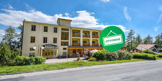 Hotel Smokovec *** Dovolenka v centre Tatier s polpenziou a wellness / Vysoké Tatry - Starý Smokovec