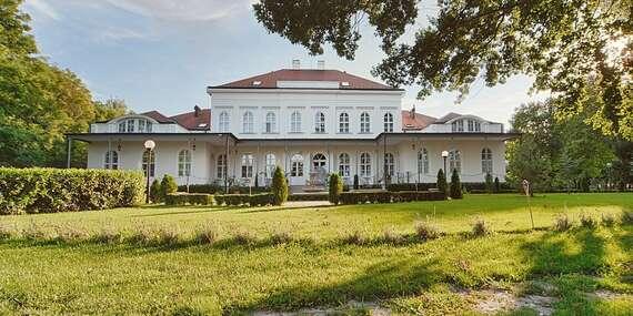 Romantika so vstupom do wellness a polpenziou v Chateau Földváry**** s platnosťou až do decembra 2021/Maďarsko - Öttevény