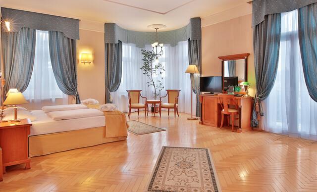 Belvedere Spa & Wellness**** s bohatou polpenziou - jeden z najkrajších hotelov Mariánskych Lázní