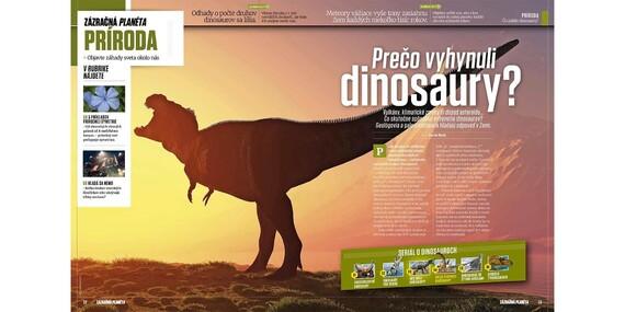 Ročné predplatné časopisov Svet zvierat a Zázračná planéta/Slovensko