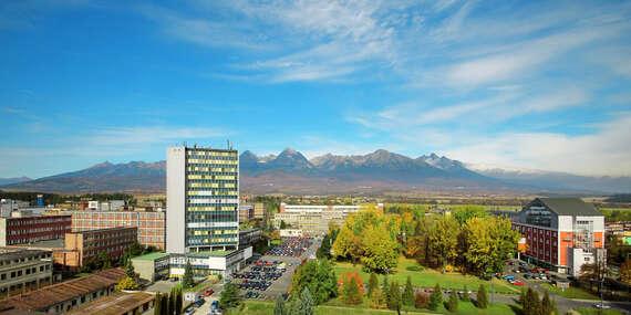 Jesenný relax pod Vysokými Tatrami v moderných apartmánoch hotela Spolcentrum*** vo Svite/Vysoké Tatry - Svit