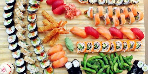 Sushi set s donáškou zadarmo priamo k vám domov / Bratislava
