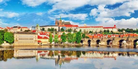 Historické centrum Prahy jen 10 minut MHD z hotelu Artemis**** se snídaní a platností do prosince 2020/Praha