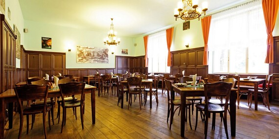 Pobyt pro dva u zámku Lysice na jižní Moravě s polopenzí, bazénem a wellness za polovic/Jižní Morava - Lysice