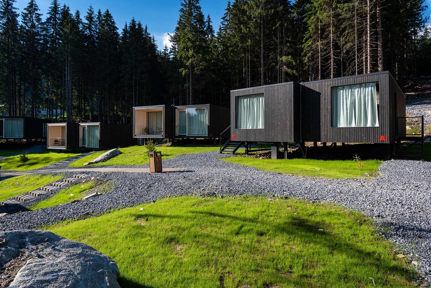 Björnson Tree Houses – dovolenka uprostred lesa pod Chopkom