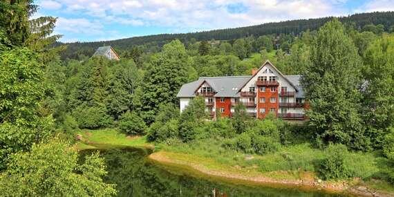 Luxusní apartmány pro až 4 osoby ve Špindlerově Mlýně s výhledem na jezero - zařiďte se v Krkonoších podle svého s platností do prosince 2020 / Krkonoše - Špindlerův Mlýn