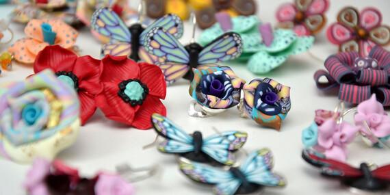 Kreatívny kurz Fima v Purpur Ateliér - vlastnoručne vyrobené šperky z polymérových hmôt/Bratislava - Petržalka