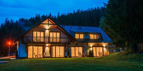 Luxusní ubytování pro 4 až 6 osob v Apartmánech Bílá 188 s plně vybavenou kuchyní, krbem a překrásným výhledem na beskydské vrchy / Bílá