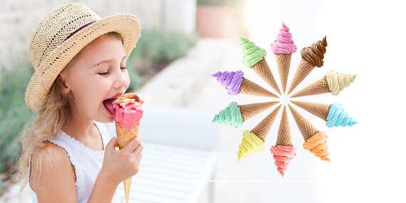 Originálna točená zmrzlina z Opočna podľa výberu v cukrárni Kafíčko/Bratislava - Karlova Ves