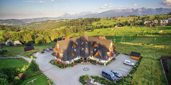 Výborně hodnocený hotel Redyk *** s polopenzí a volným vstupem do SPA / Poľsko - Zab v Zakopanom