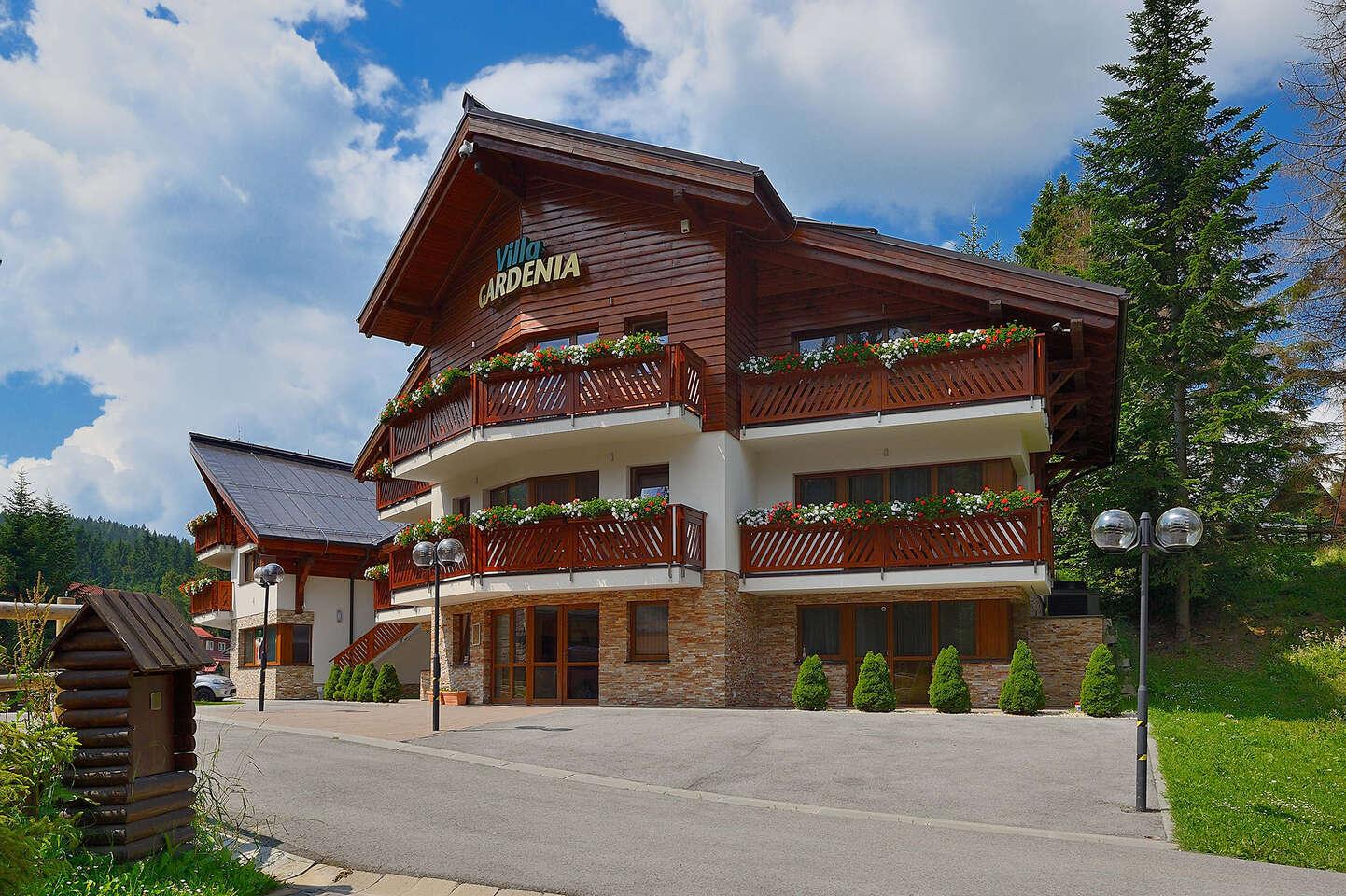 Luxusná Villa GARDENIA*** na Donovaloch s neskorým check out-om