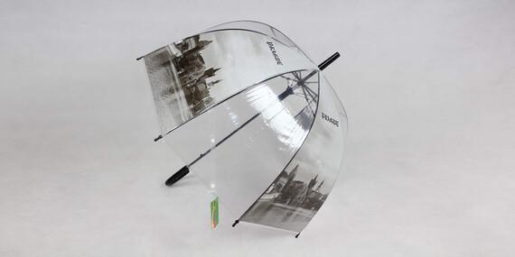 Transparentné dáždniky do dažďa/Slovensko