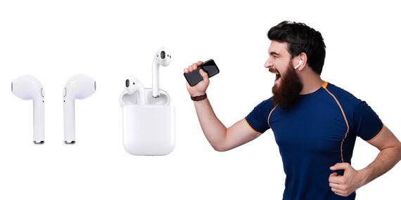 Bezdrôtové Bluetooth Slúchadlá Twins alebo AirPods/Slovensko