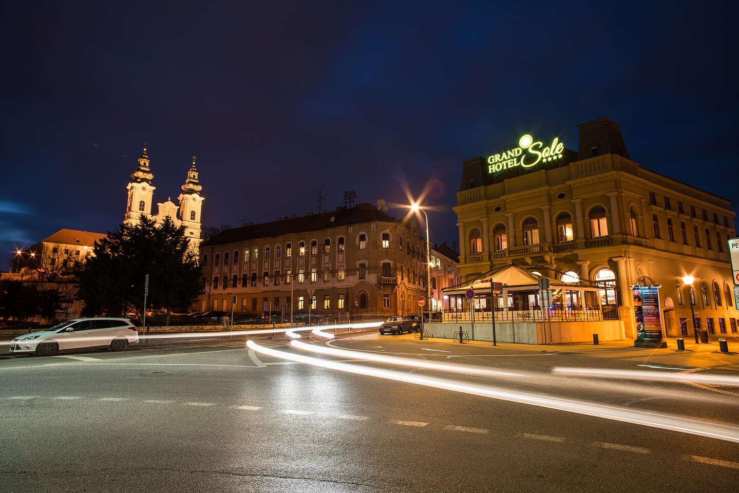 Grand Hotel Sole****: Historický hotel v centre Nitry