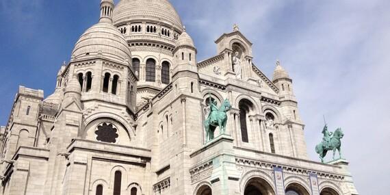 Paríž letecky priamo z Bratislavy s ubytovaním, profesionálnym sprievodcom, aj s možnosťou návštevy Disneylandu/Zájazd: Paríž - Francúzsko