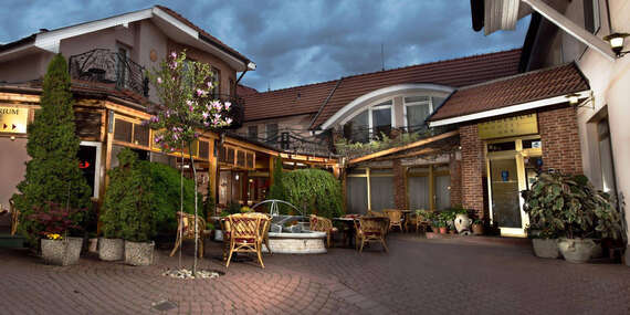 Pobyt vo dvojici v hoteli Banderium*** s privátnym wellness + možnosť vstupu na termálne kúpalisko/Komárno