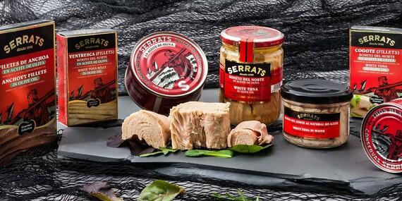 Darčekové balenie tuniakov z Biskajského zálivu – jedného z najčistejších zálivov na planéte/Slovensko
