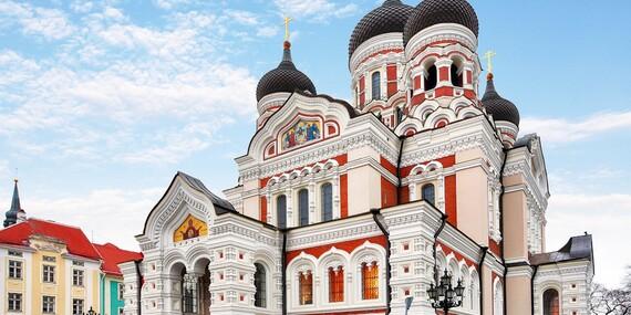 Putovanie Pobaltím: Litva, Lotyšsko, Estónsko a fínske Helsinki počas 6-dňového výletu/Pobaltské krajiny