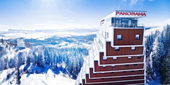 Hotel Panorama**** pri Štrbskom plese s polpenziou a dieťaťom do 11 rokov v cene, pobyty platia počas celého roka 2021/Vysoké Tatry - Štrbské Pleso