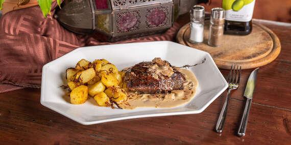 Steak z pravej hovädzej sviečkovice/Bratislava - Petržalka - Draždiak
