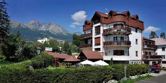 Moderní vila Beatrice přímo pod Tatrami se snídaní a množstvím slev/Vysoké Tatry – Starý Smokovec