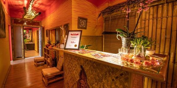 Tradičná thajská masáž v Starom Meste – obľúbený darček plný relaxu, s novými voľnými termínmi/Bratislava – Staré Mesto