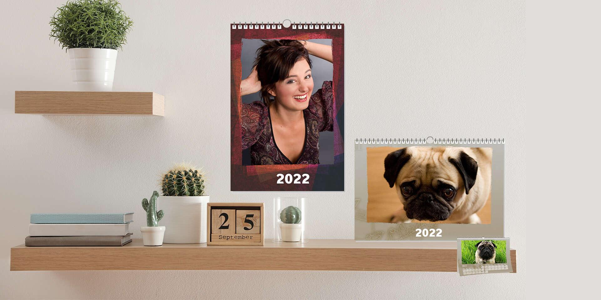 Nástenný fotokalendár 2022 z vašich najkrajších záberov + darček ku každej objednávke pexeso z vlastných fotografií