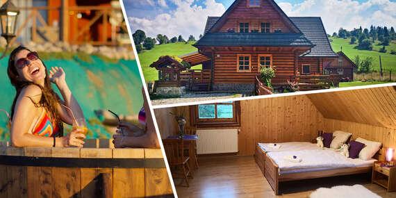 Prenájom celej chaty Siberia Haus až pre 26 osôb v nedotknutej prírode Pienin so vstupom do súkromnej kade / Slovensko - Osturňa