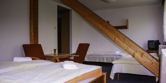 Březnový Last Minute za skvělou cenu v hotelu Maxov v krajině Jizerských hor s polopenzí a vstupem do sauny pro celou rodinu/Jizerské hory - Josefův Důl