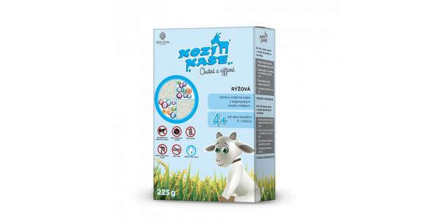 Dojčenská výživa z kozieho mlieka.