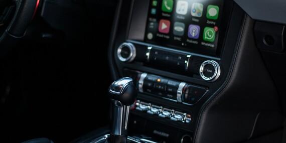 Adrenalinová jízda ve sportovním vozu Ford Mustang GT s možností pořízení videozáznamu/Praha, Brno, Olomouc, Ostrava