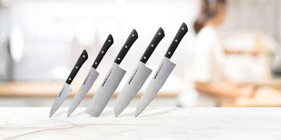Sada 3 alebo 5 prémiových nožov Samura Harakiri (vo väčšej sade aj obľúbené japonské typy)/Slovensko