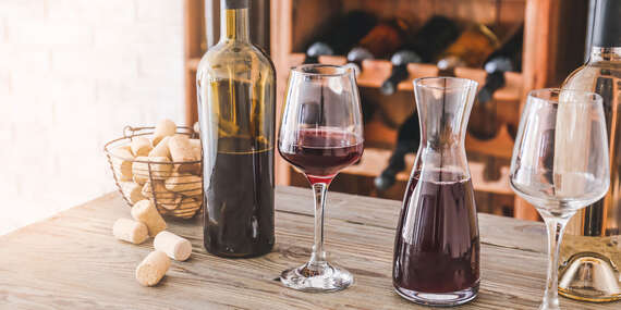Degustácia slovenských vín Hulanský v ADRIANA kaviarni v ROSUMe/Bratislava - Ružinov