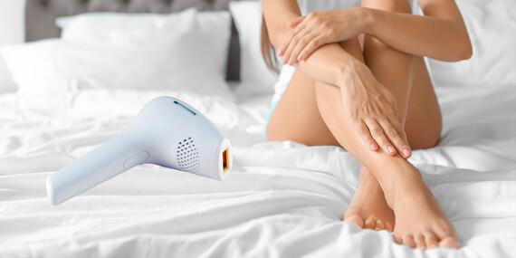 Trvalá depilácia v pohodlí domova - depilačný prístroj L106/Slovensko