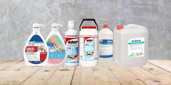 Vysokoúčinné dezinfekčné prostriedky na ruky, ktoré zabíjajú vírusy a baktérie/Zvolen