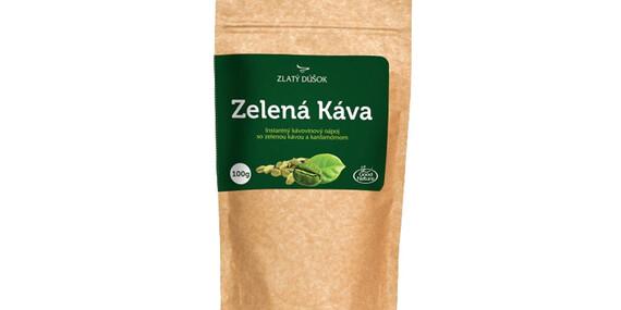 Zelená káva s rôznymi príchuťami (1 + 1 zadarmo)/Slovensko