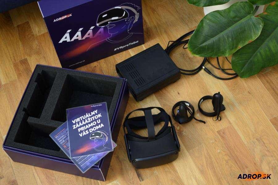 Požičanie virtuálnej reality na celý víkend (okuliare + 10 hier ...