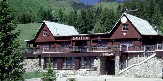 Dobrodružná rodinná dovolenka v Chate Žiar so zľavami na množstvo aktivít/Rajecká Lesná