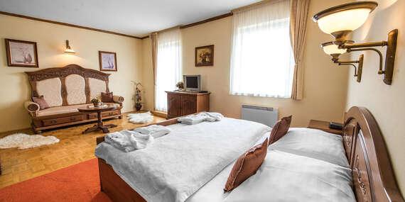 Hotel Husárik****: Dovolenka v čistej prírode Kysúc s regionálnymi špecialitami na večeru/Kysuce - Čadca
