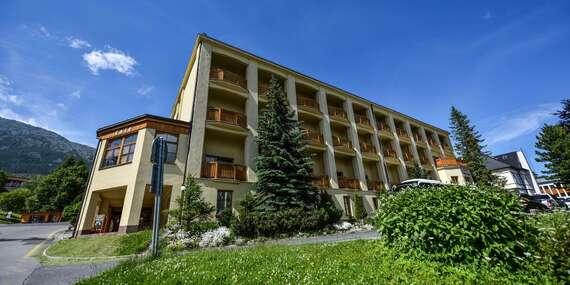 Tatranský relax v hoteli Smokovec*** pri lanovke na Hrebienok s polpenziou a wellness alebo plnou penziou/Vysoké Tatry - Starý Smokovec