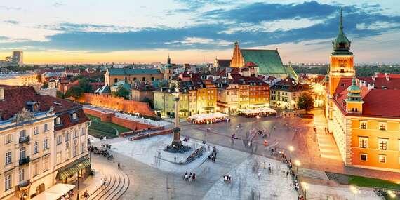 Novozariadený hotel Wola blízko centra Varšavy s až dvoma deťmi do 17 rokov zdarma/Poľsko - Varšava