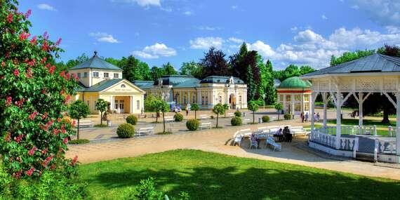 3 dny odpočinku ve Františkových lázních v hotelu Bohemia s polopenzí, medovým zábalem, vstupem do solné jeskyně a platností až do prosince 2021/Františkovy Lázně